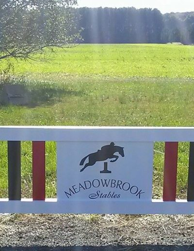 Meadowbrook Fence Jump
