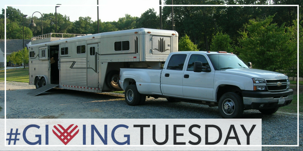 Giving Tuesday: Help us replace our trailer!